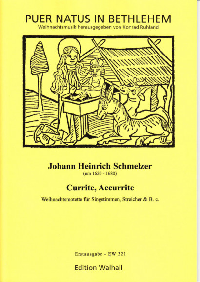 Schmelzer, Johann Heinrich (~1620-1680): Currite, Accurrite <br>- score