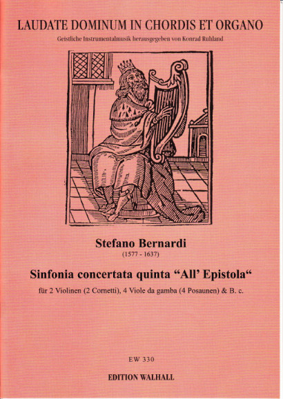 "Bernardi, Stefano (1577-1637): Sinfonia quinta concertata ""All'Epistola"""