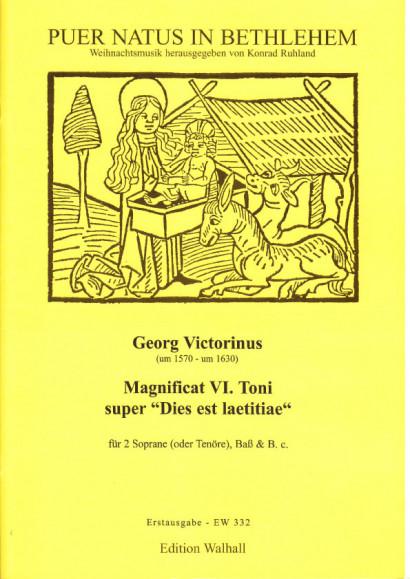 """Victorinus, Georg (~1570-~1630): Magnificat VI. Toni super """"Dies est laetitiae"""""""