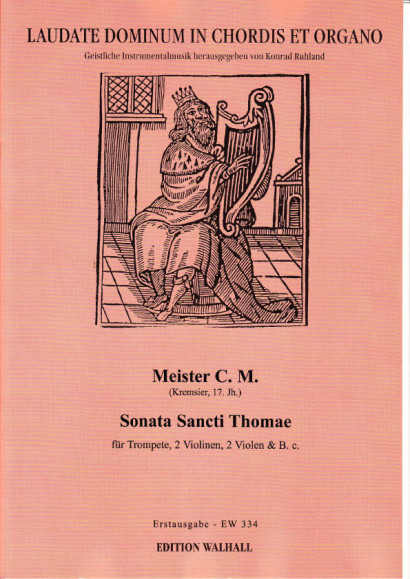 Meister C. M.: Sonata Sancti Thomae