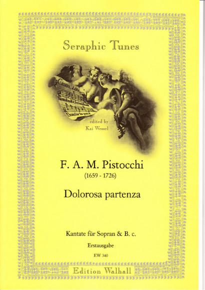 Pistocchi, Francesco A. M. (1659- 1726): Dolorosa Partenza <br>- Sopran & B. c.