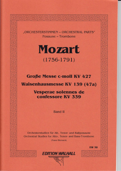 Orchesterstudien für Posaune: Messen - Requien - Band II (84 S.)