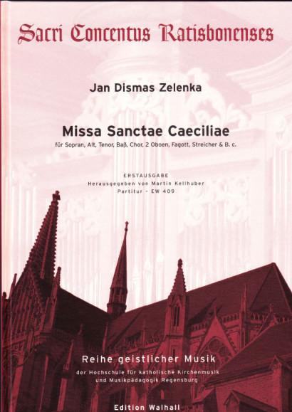 Jan Dismas Zelenka (1679-1745): Missa Sanctae Caeciliae ZWV 1<br>- Partitur, 112 S.