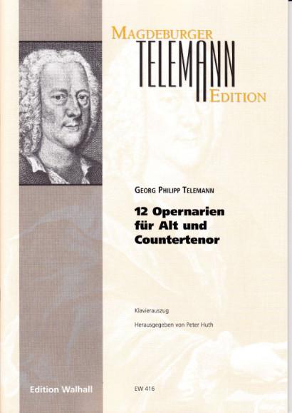 Telemann, Georg Philipp (1681-1767): Opernarien - Bd. 2<br>- für Alt/Countertenor