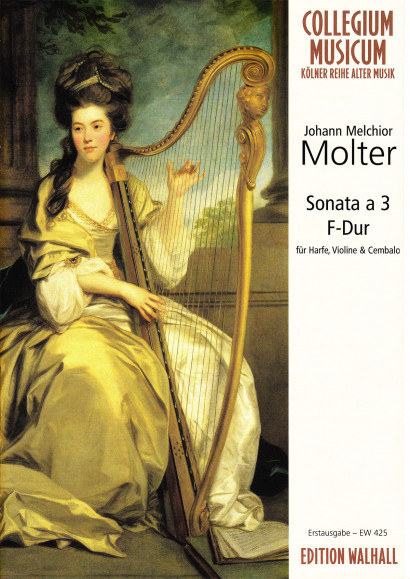 Molter, Johann Melchior (1696–1765): Sonata à 3 F Major