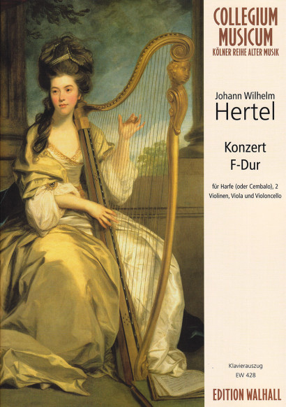 Hertel, Johann Wilhelm (1729- 1789): Konzert F-Dur<br>piano reduction