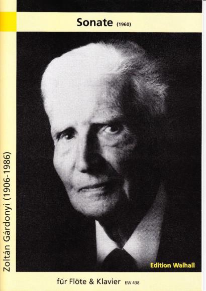 Gárdonyi, Zoltán (1906–1986): Sonate (1960)