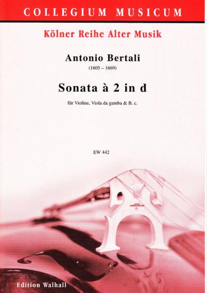 Bertali, Antonio (1605-1669): Sonata á 2 in d