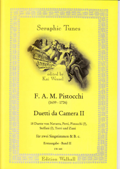 Pistocchi, Francesco A. M. (1659- 1726): Duetti da Camera - Band II