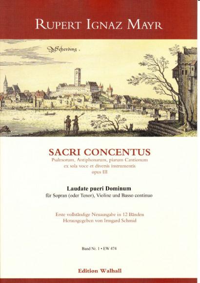 Mayr, Rupert Ignaz (1646-1712): Laudate pueri Dominum