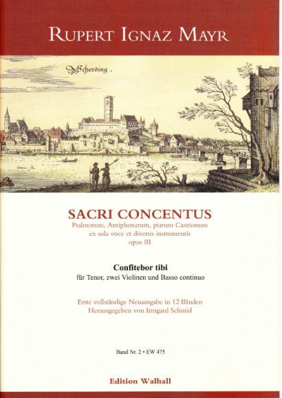 Mayr, Rupert Ignaz (1646-1712): Confitebor tibi<br>- Volume II