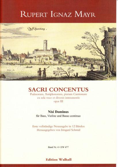 Mayr, Rupert Ignaz (1646–1712): Nisi Dominus<br>- Volume IV