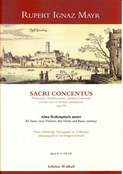 Mayr, Rupert Ignaz (1646-1712): Alma Redemptoris mater<br>- Volume V