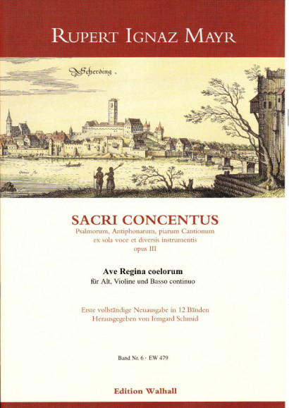 Mayr, Rupert Ignaz (1646-1712): Regina coeli<br>- Volume VI