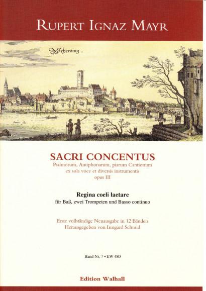 Mayr, Rupert Ignaz (1646-1712): Regina coeli<br>- Volume VII