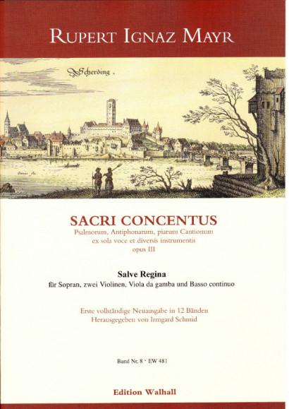 Mayr, Rupert Ignaz (1646-1712): Salve Regina
