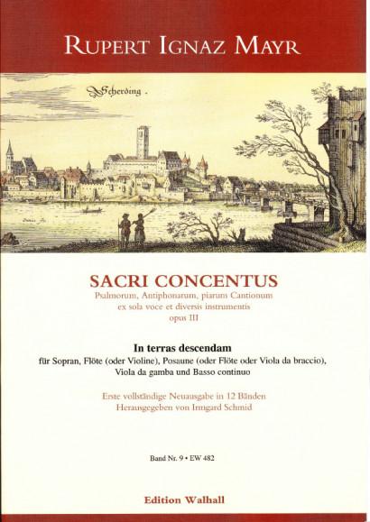 Mayr, Rupert Ignaz (1646-1712): In terras descendam