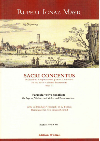 Mayr, Rupert Ignaz (1646-1712): Formula votiva sodalium
