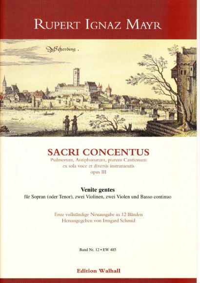 Mayr, Rupert Ignaz  (1646-1712): Venite gentes<br>- Volume XII