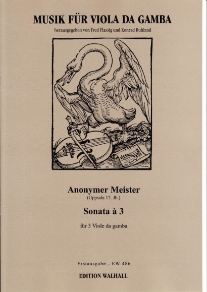 Anonymer Meister (Uppsala 17. Jh.): Sonata á 3