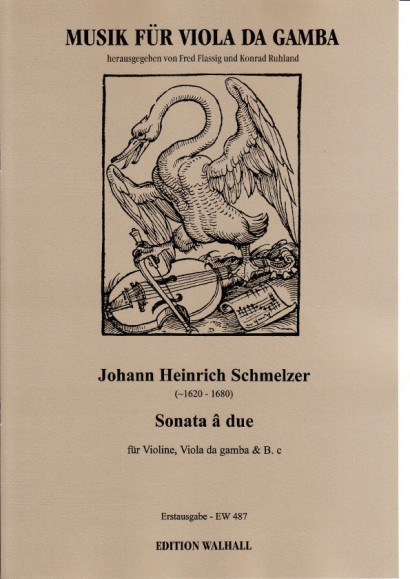 Schmelzer, Johann Heinrich (~1620–1680): Sonata â due