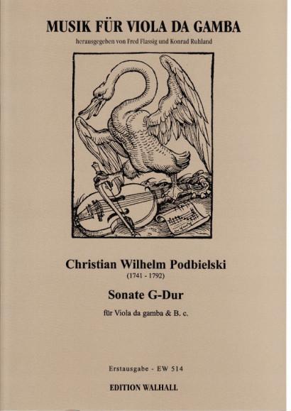 Podbielski, Christian Wilhelm (1741-1792): Sonate G-Dur
