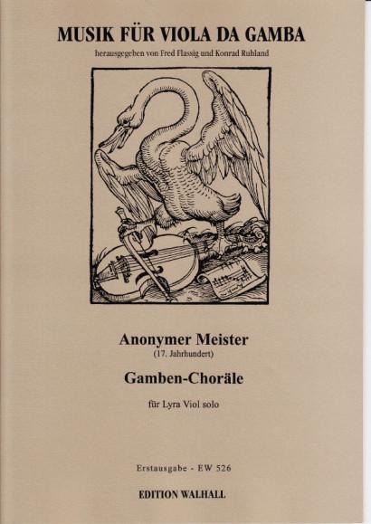 Anonymer Meister (Paris 17. Jh): Gamben-Choräle