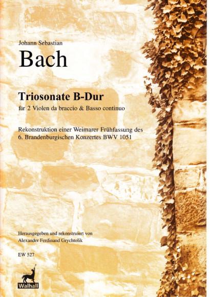 Bach, Johann Sebastian (1685– 1750): Brandenburgisches Konzert Nr. 6