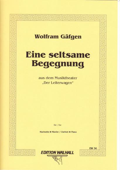 Gäfgen, Wolfram (* 1965): Eine Seltsame Begegnung II