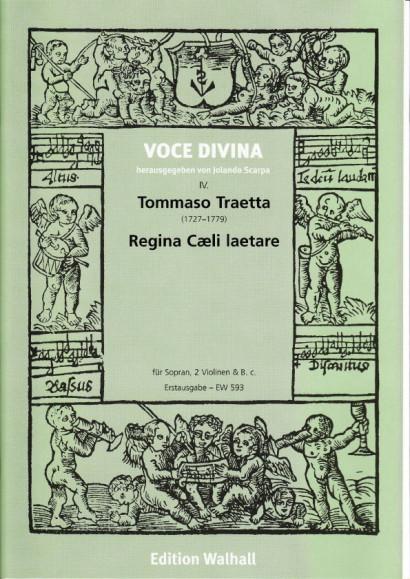 Traetta, Tommaso (1727-1779): Regina Coeli laetare