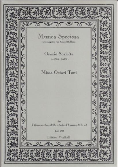 Scaletta, Orazio (~1550-1630): Missa Octavi toni à 3