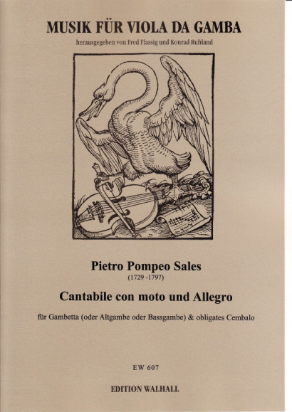 Sales, Pietro Pompeo (1729-1797): Cantabile con moto und Allegro