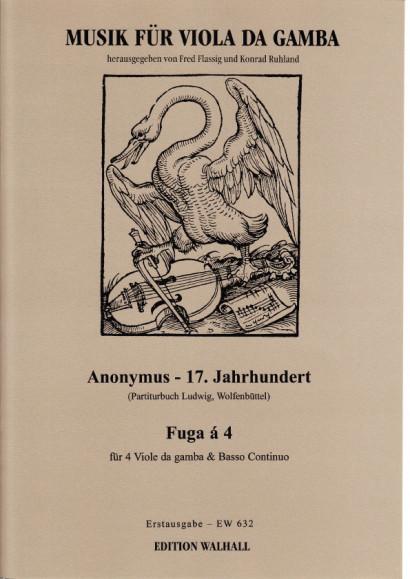 Anonymer Meister (17. Jh.): Fuga á 4