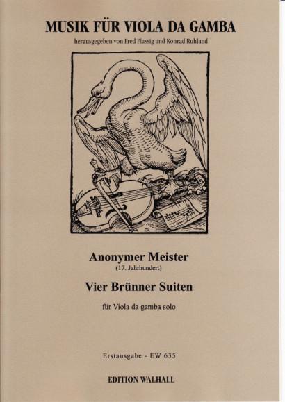 Anonymer Meister (17. Jh): Vier Brünner Suiten