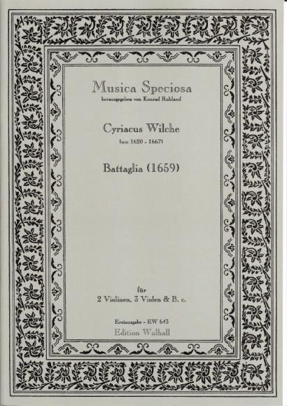Wilche, Cyriacus (~1620-1667): Battaglia (1659)