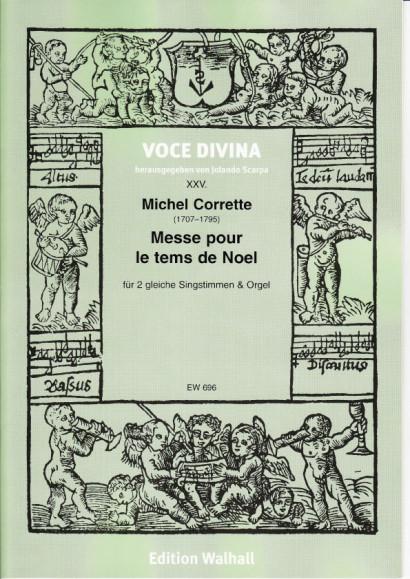 Corrette, Michel (1707–1795): Messe pour le tems de Noel