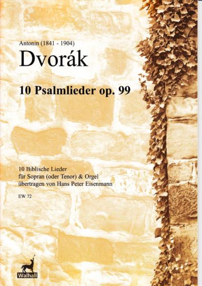 Dvorák, Antonín (1841-1904): Zehn Biblische Lieder op. 99<br>- für Sopran (Tenor)