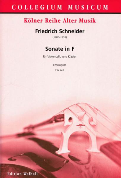 Schneider, Friedrich (1786-1853): Sonate in F