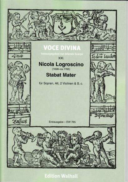 Logroscino, Nicola (1698–~1765): Stabat Mater<br>- score