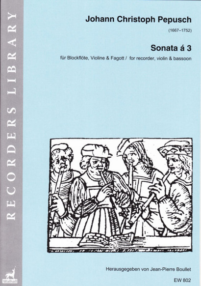 Pepusch, Johann Christoph 1667–1752): Sonata á 3 G-Dur
