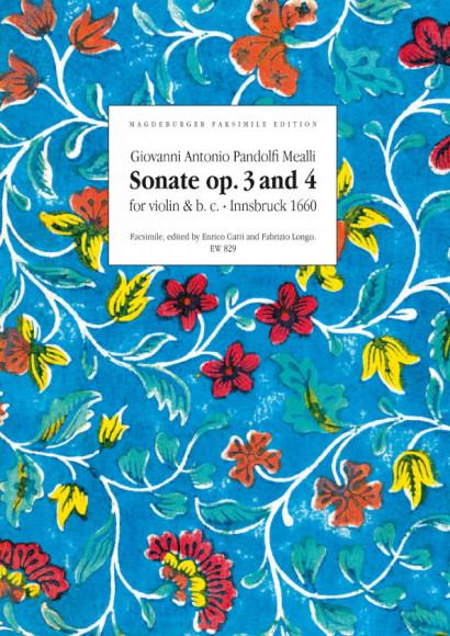 Pandolfi Mealli, Giovanni Antonio (17. Jh.): Sonatae op. 3 & 4