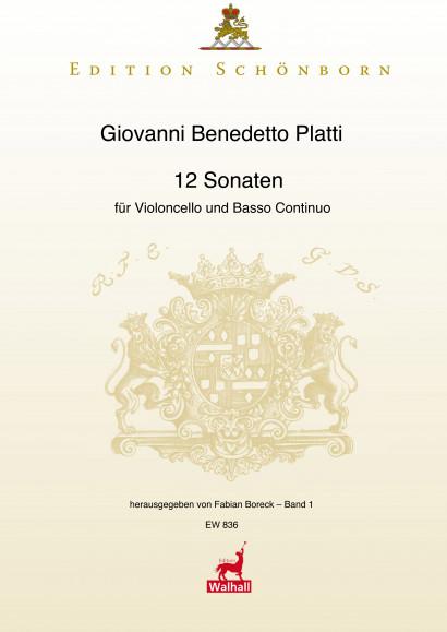 Platti, Giovanni Benedetto (1697-1763): 12 Sonaten<br>- Sonaten I-VI (D WD 697)