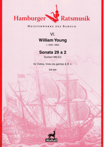 Young, William (~1625–1662): Sonata 29 a 2