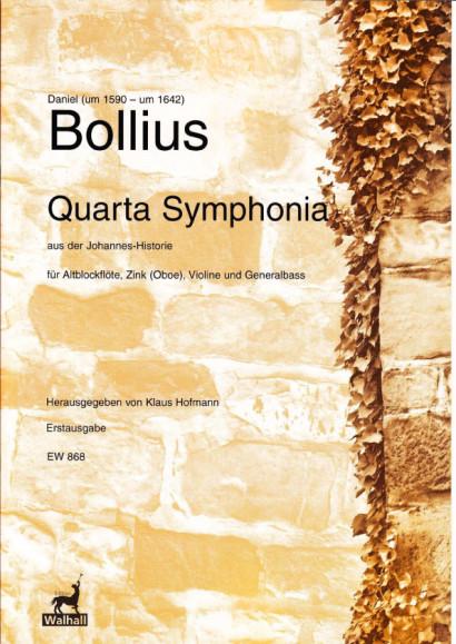 Bollius, Daniel (~1590–1642): Quarta Symphonia