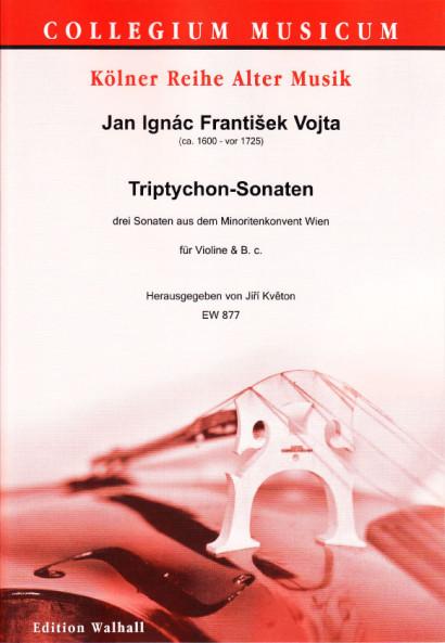 Vojta, Jan Ignác František (~1600 – vor 1725): Triptychon-Sonaten