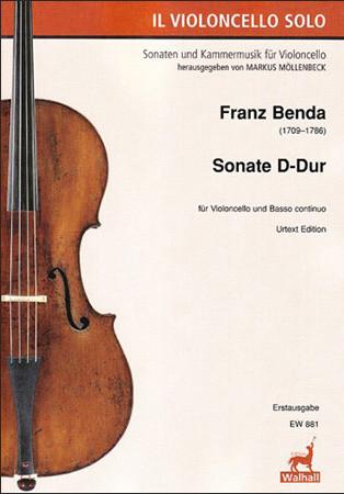 Benda, Franz (1709–1786): Sonate D-Dur