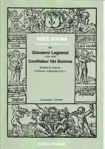 Legrenzi, Giovanni (1626–1690): Confitebor tibi Domine