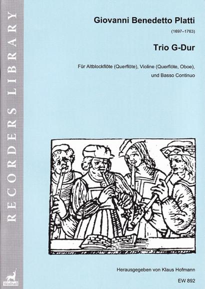 Platti, Giovanni Benedetto (1697–1763): Trio G-Dur