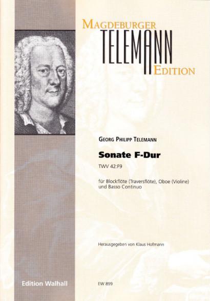 Telemann, Georg Philipp: Sonate F-Dur (TWV 42:F9)