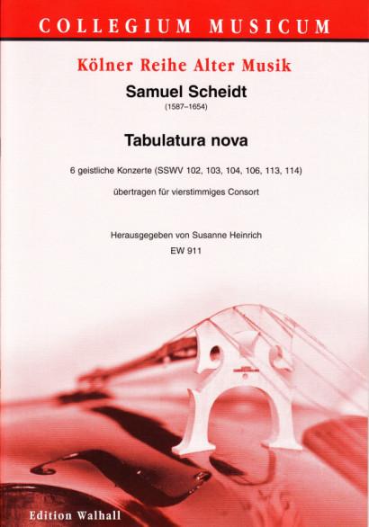 Scheidt, Samuel (1587–1654): Tabulatura nova